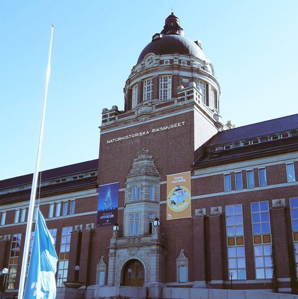 We gaven het GLAM Innovation Lab op een prachtige locatie: Het Naturhistoriska Riksmuseet, het nationaal natuurhistorisch museum.